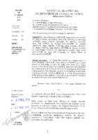Délibérations N°2015-19 du conseil municipal du 09/03/2015