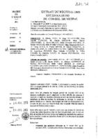 Délibérations N°2013-32 du conseil municipal du 10/04/2013