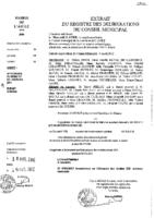 Délibérations N°2012-29 du conseil municipal du 11/04/2012
