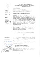Délibérations N°2015-34 du conseil municipal du 13/04/2015