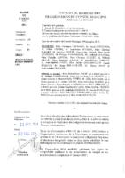 Délibérations N°2014-143 du conseil municipal du 15/12/2014