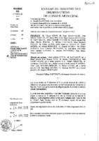 Délibérations N°2013-01 du conseil municipal du 21 /01/2013