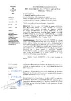Délibérations N°2016-34 du conseil municipal du 21/03/2016
