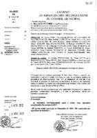 Délibérations N°2012-97 du conseil municipal du 24/10/2012