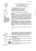 Délibérations N°2013-93 du conseil municipal du 25/09/2013