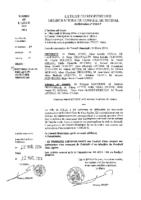 Délibérations N°2014-07 du conseil municipal du 26/02/2014