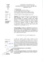 Délibérations N°2015-01 du conseil municipal du 26/01/2015