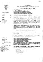 Délibérations N°2012-20 du conseil municipal du 28/03/2012