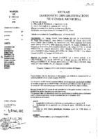 Délibérations N°2012-19 du conseil municipal du 29/02/2012