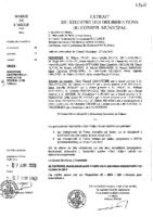 Délibérations N°2012-43 du conseil municipal du 30/05/2012
