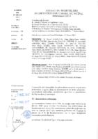 Délibérations N°2017-01 du conseil municipal du 27/02/2017