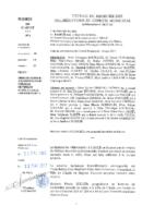 Délibérations N°2017-34 du conseil municipal du 22/05/2017