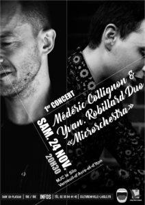 Jazz en Ouche: Médéric Collignon et Yvan Robillard @ MJC Le Silo