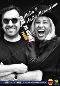 Jazz en Ouche : André Manoukian et Malia @ Salle de Verdun