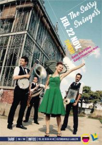 Jazz en Ouche: The Sassy Swingers @ Salle des Fêtes