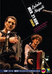 Jazz en Ouche: Lalala Napoli @ La Grange de Villeron
