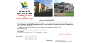 Vente par adjudication @ Office Notarial de L'Aigle