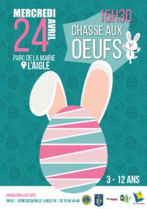 Chasse aux Oeufs 2019 @ Parc Albert 1er
