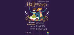 Atelier d'Halloween - Médiathèque